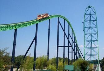 Kingda Ka – #Соединённые_Штаты_Америки #Нью_Джерси (#US_NJ) Kingda Ka - самые высокие американские горки в мире. http://ru.esosedi.org/US/NJ/1000133401/kingda_ka/