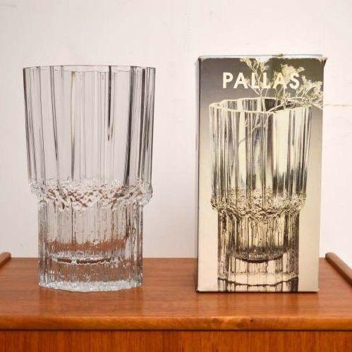 Pallas vase by Tapio Wirkkala for iittala circa 1984