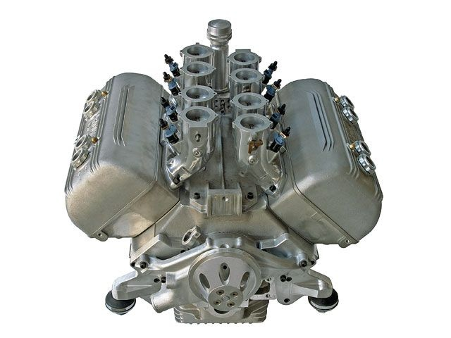 Too Much in this pic..... Aluminum Ardun Flatty with Ardun OHV Heads, Stacked fuel injection converted to EFI,......Oh Baby