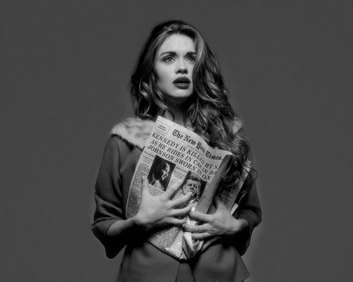 """Holland Roden - """"Historial Fiction"""" (2015)"""