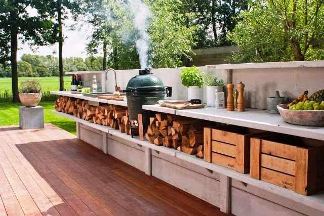Collection Design Exterior Home Decor Ideas Outdoor Kitchen | Place for hello-ideas
