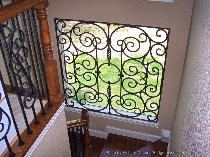 1000 Images About Tableaux 174 Faux Iron Window Treatments