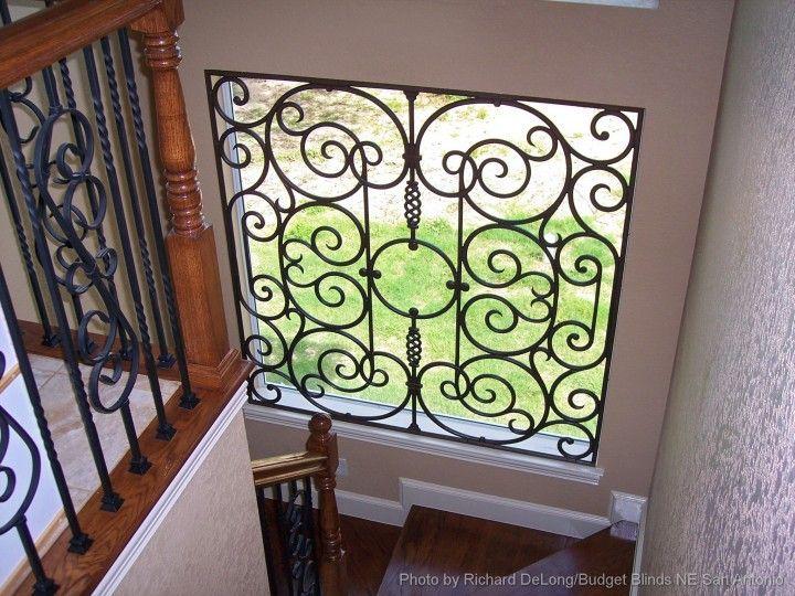 53 Best Tableaux 174 Faux Iron Window Treatments Images On