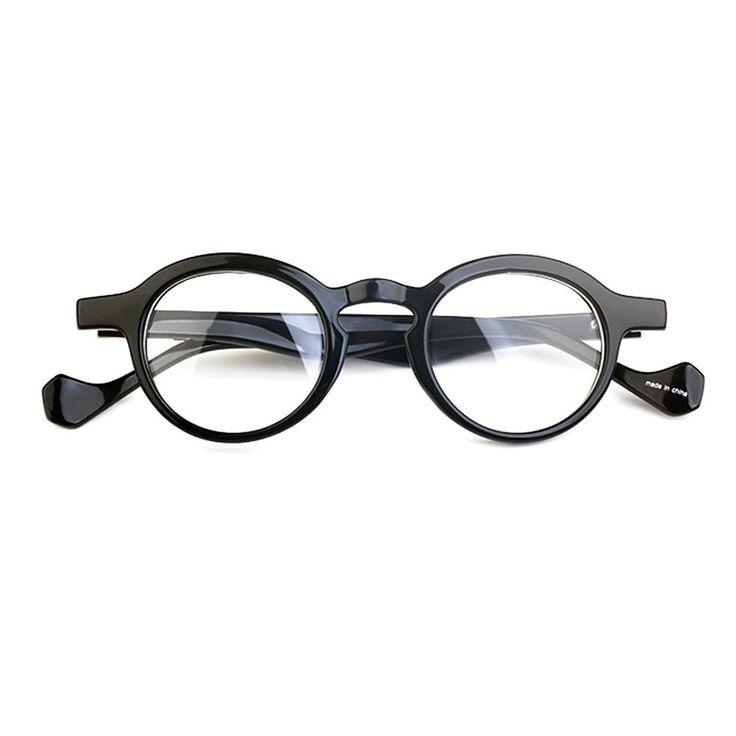 1920-х годов винтажный очки Oliver ретро маленький круглый oz6 черные рамки Корейская POP-музыка народов