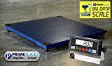 "#8: Prime Scales Heavy Duty 48""x48"" Floor Scale 