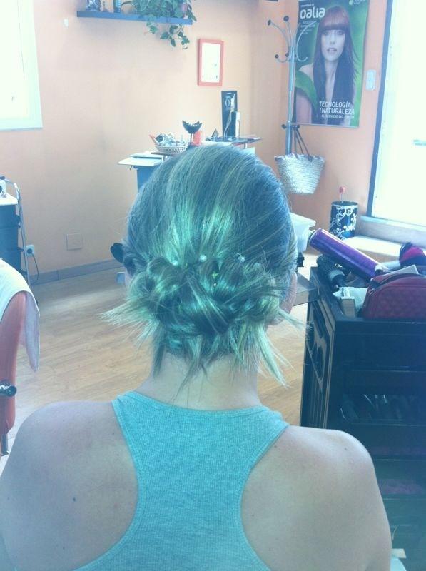 #recogido #peinado #boda #peluqueria #wedding #hairstyle
