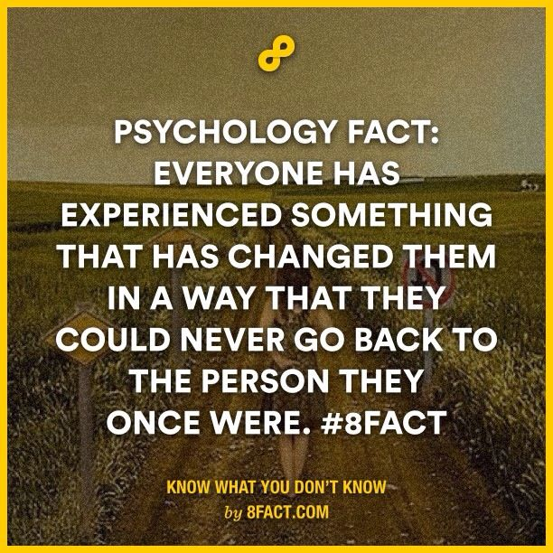 Psychology fact