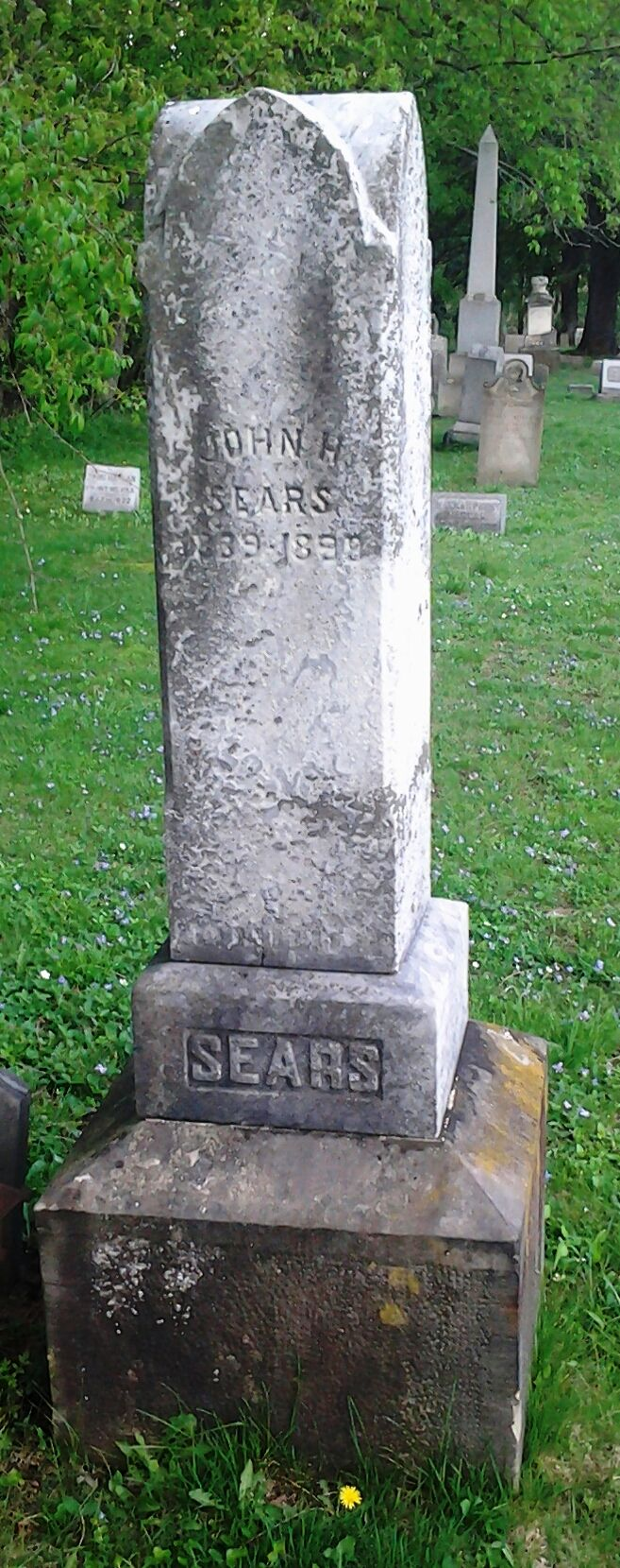 John Henry Sears (1839-1898) - Find A Grave Memorial