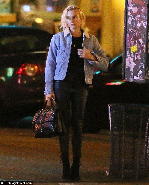 Out on Boxing Day: On Monday, Diane Krugerwas spotted having a stroll in New York City, h...