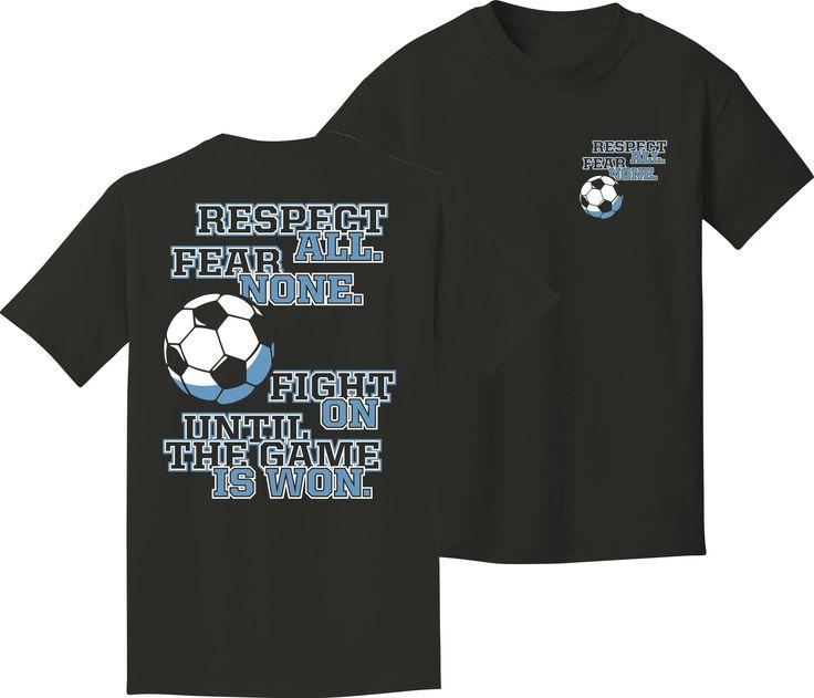 Utopia Fear None Short Sleeve Soccer T-Shirt