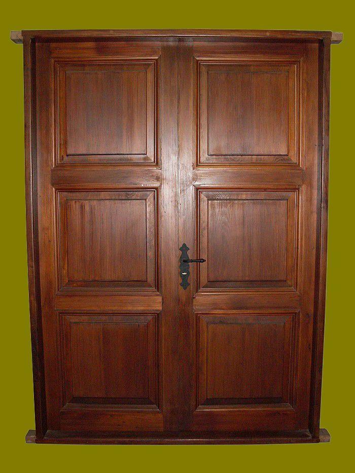 Mejores 9 im genes de puertas dobles realizadas a medida for Puertas antiguas dobles