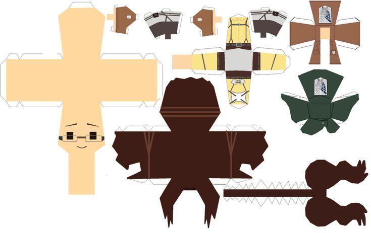 Hanji Zoe papercraft template by Zenny-Again.deviantart.com on @DeviantArt