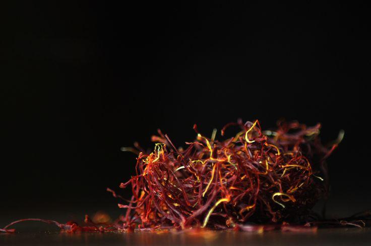 Saffron. What a color, what a taste, what a texture.  #food #spice #macro #saffron #photography