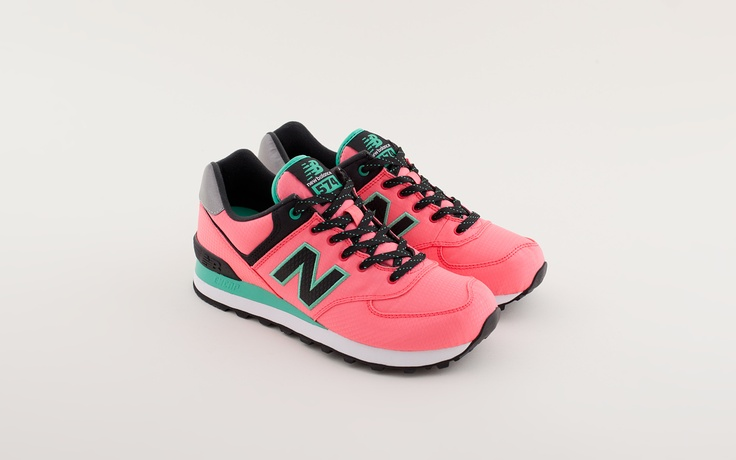New Balance WL574 WBG, Pink – Voo Store