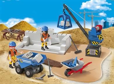 Playmobil Super Set Εργοτάξιο (6144) | Moustakastoys.gr