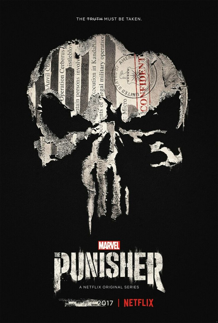 The Punisher Netflix Series Poster