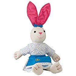 Personalized Springtime Girl Bunny