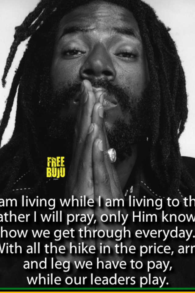 Buju Banton: legendary reggae artist. Respect to him ...