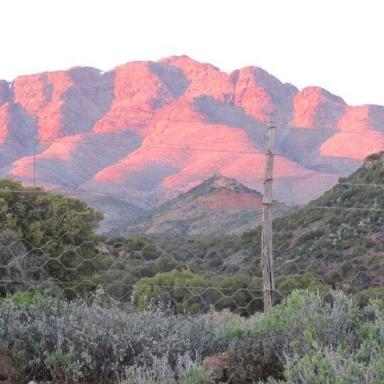 Sunrise near De Rust South Africa