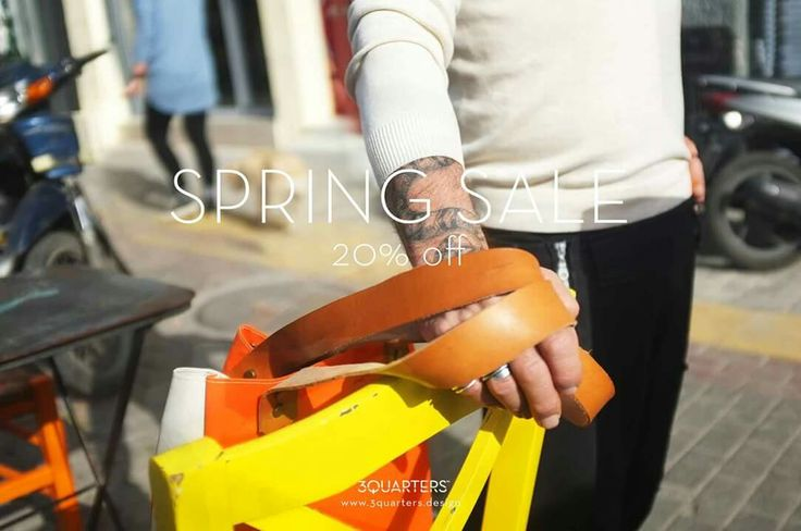 Breaking news: our Spring Sale is now on!   Check out our flowery spring collection, now with a 20% discount.  Visit www.3quarters.design/shop/ or pop by our shop in central Athens at Ag. Dimitriou 19, 105 54.  Happy sunny Sunday! #my3quarters #springsale #sustainablefashion #fashionrevolution