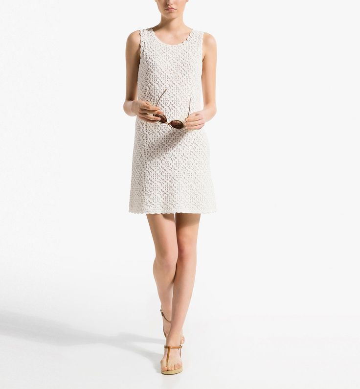 VESTIDO CROCHET 100% ALGODÓN http://www.massimodutti.com/es/es/women/vestidos-%26-faldas/vestido-crochet-100%25-algod%C3%B3n-c1060620p3722508.html?colorId=250