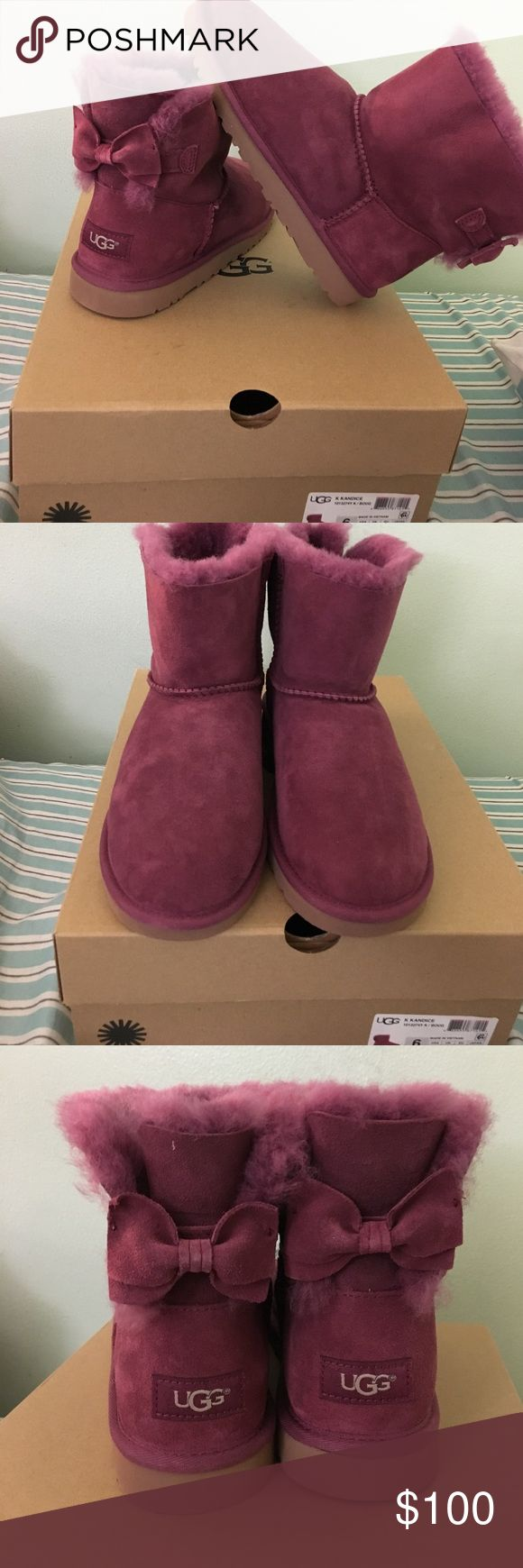 Brand new short uggs Brand new kids size 6 women's size 71/2-8 UGG Shoes Ankle Boots & Booties
