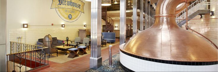 Milwaukee Hotels: Brewhouse Inn and Suites - Pabst Hotel #MIlwaukee #hotel #historicalsite