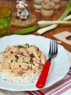 Az otthon ízei: Csirkemell Sztroganoff módra