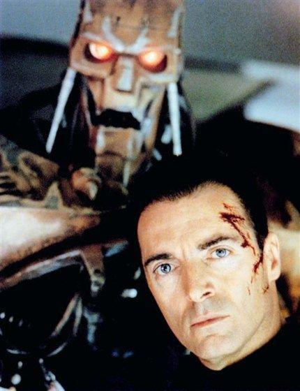 Armand Assante 1995 as Judge Rico Dredd for the movie 'Judge Dredd' featuring Sylvester Stallone, Diane Lane & Rob Schneider
