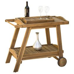 Contemporary Outdoor Serving Carts by Great Deal Furniture