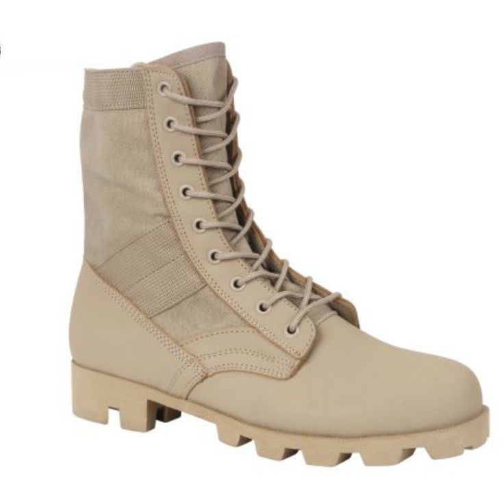 G.I. Type Speedlace Desert Tan Jungle Boot - TAN
