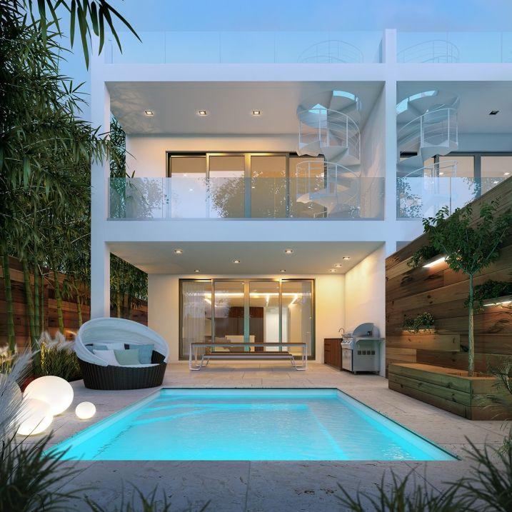 Les 25 meilleures id es concernant villa de luxe sur for Architecture des villas modernes