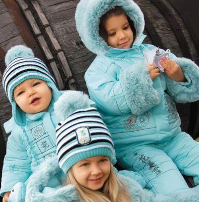Детская яркая зимняя куртка для девочки купить