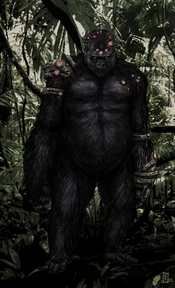 Gorilla Grodd by Robert Schilling