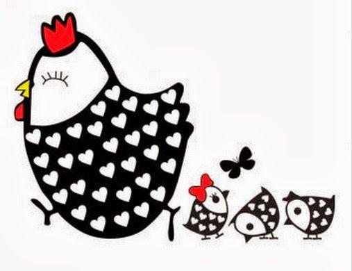 Pintura em Tecido Passo a Passo: Pintura em tecido galinha com pintinhos