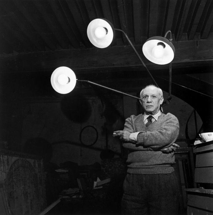 Picasso - Robert Doisneau