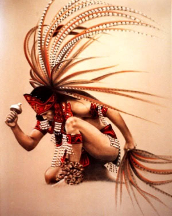 La Decoration de Playa Garden. Tipo Indio Azteca, con Lenca. cafe,beige,blanco, rojo, naranja clay. Ejemplo
