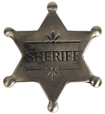 Old West Badge - Sheriff Badge    $12.95