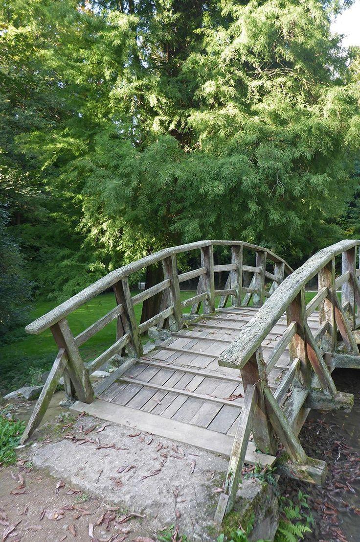 #Staatspark #Fürstenlager #Schwanenteich #Holzbrücke #Brücke #Bogenbrücke #Gartendenkmalpflege #Bensheim #HessischeWeinstraße #b_lau