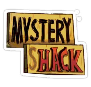 'Gravity Falls Mystery Shack' Sticker by jamaziing