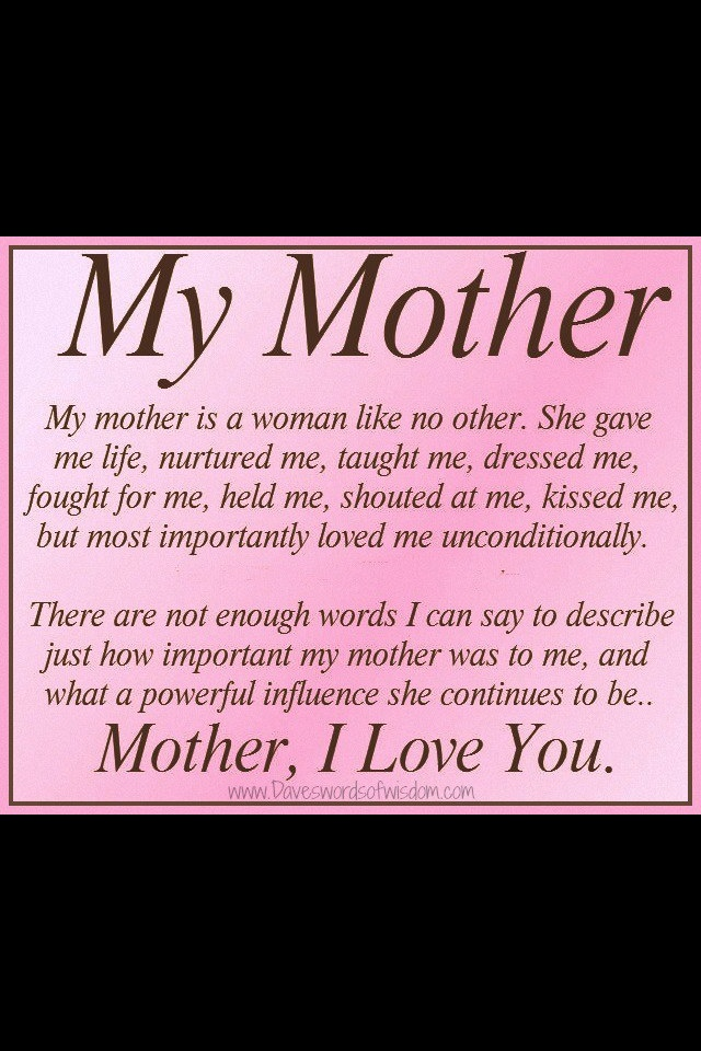 best mom♥ images mother s day birthday wishes  mom quote