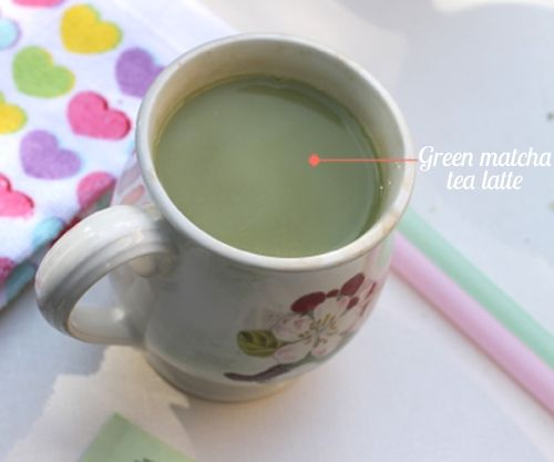 Here's my take on Kristin Cavallari's Skinny Green Tea Latte. Made with almond milk, it's great for detoxing and calorie burning capabilities.