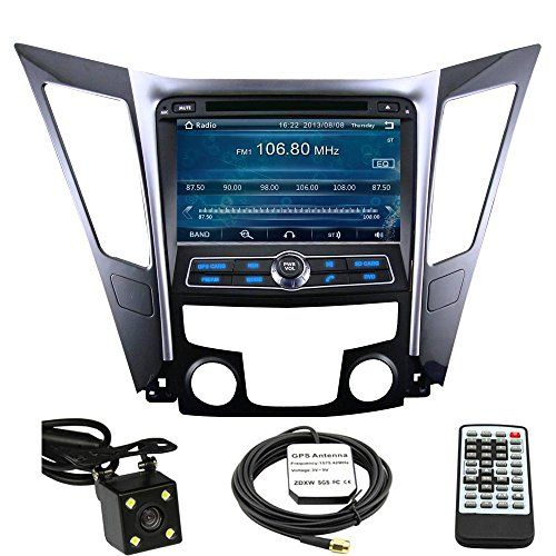 Special Offers - Car GPS Navigation System for Hyundai Sonata 2011 2012 2013 2014 Double Din Car Stereo DVD Player 8 Inch Touch Screen TFT LCD Monitor In-dash DVD Video Receiver with Built-In Bluetooth TV Radio Support Factory Steering Wheel Control RDS SD/USB iPod AV BT AUX IN Free Rear View Camera  Free GPS Map of USA - In stock & Free Shipping. You can save more money! Check It (September 16 2016 at 02:13AM)…