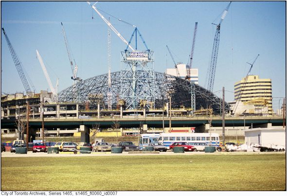 A look back at the birth of the SkyDome http://www.blogto.com/city/2012/01/a_look_back_at_the_birth_of_the_skydome/