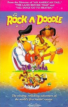 Rock-A-Doodle - good kids movie.  Watched this hundreds of times with my nephew who is now 25.  Need to buy it for his girls to watch.