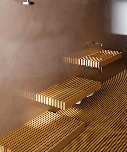Il Bagno Che Non C'è, sanitary ware collection for Rapsel, 2007