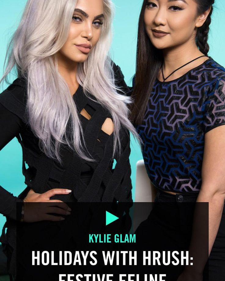 @kyliejenner: 2nd #HolidaysWithHrush video is now up on the Kylie Jenner official app & TheKylieJenner.com! I learned some tips myself ☺️ thanks @styledbyhrush