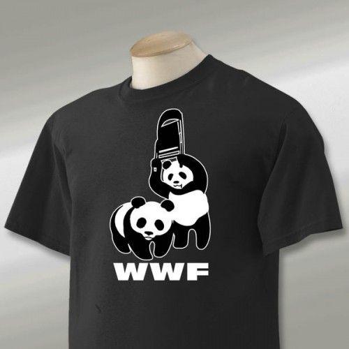 Panda WWF Chair tshirt teez Pinterest – Wwf Chair