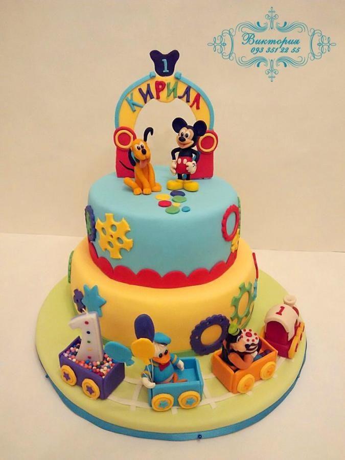 Mickey Mouse cake - Cake by viktoria