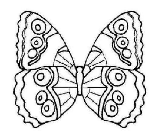 Find This Pin And More On Farfalle Da Colorare By Annamariama3180 Free Butterfly Coloring Pages